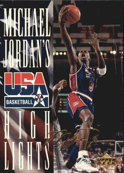 1994 Upper Deck USA - Jordan's Highlights #JH2 Michael Jordan Front
