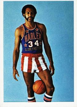 1971 Fleer Harlem Globetrotters #55 Theodis Ray Lee Front