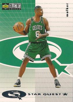 1997-98 Collector's Choice European - StarQuest #SQ13 Antoine Walker Front