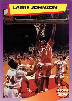 1992 Front Row Dream Picks #3 Larry Johnson Front