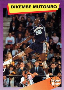 1992 Front Row Dream Picks #6 Dikembe Mutombo Front