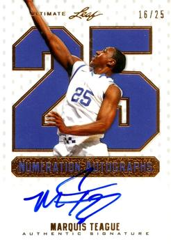 2012 Leaf Ultimate Draft - Numeration #NU-MT1 Marquis Teague Front