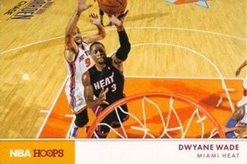2012-13 Hoops - Action Photos #4 Dwyane Wade Front