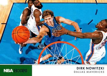 2012-13 Hoops - Action Photos #9 Dirk Nowitzki Front
