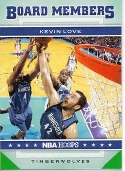 2012-13 Hoops - Board Members #1 Kevin Love Front