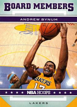2012-13 Hoops - Board Members #3 Andrew Bynum Front