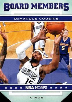 2012-13 Hoops - Board Members #6 DeMarcus Cousins Front