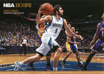 2012-13 Hoops - Courtside #10 Ricky Rubio Front