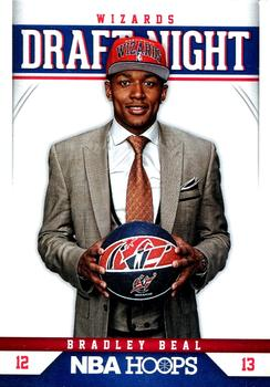 2012-13 Hoops - Draft Night #3 Bradley Beal Front