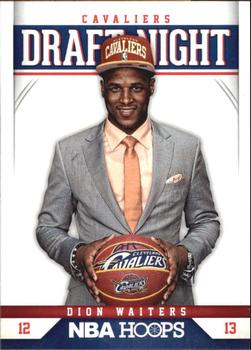 2012-13 Hoops - Draft Night #4 Dion Waiters Front