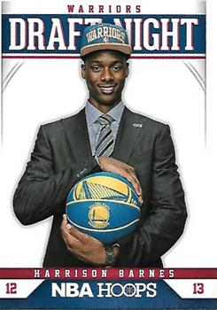 2012-13 Hoops - Draft Night #7 Harrison Barnes Front