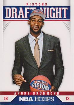 2012-13 Hoops - Draft Night #9 Andre Drummond Front