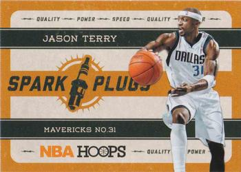 2012-13 Hoops - Spark Plugs #2 Jason Terry Front
