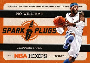 2012-13 Hoops - Spark Plugs #10 Mo Williams Front
