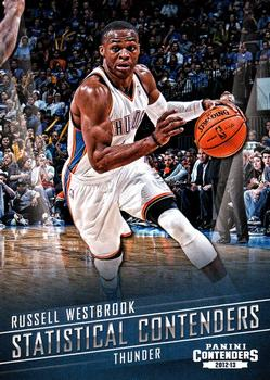 1dd8f2d0e5ff31 2012-13 Panini Contenders - Statistical Contenders  2 Russell Westbrook