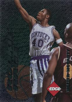 1996 Collector's Edge #27 Walter McCarty Front