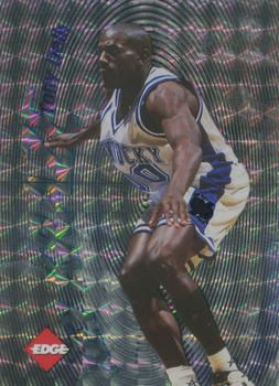 1996 Collector's Edge Rookie Rage - Key Kraze Holofoil #6 Tony Delk Front
