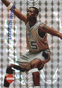 1996 Collector's Edge Rookie Rage - Key Kraze Holofoil #24 Lorenzen Wright Front