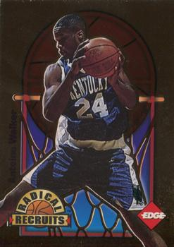 1996 Collector's Edge - Radical Recruits Gold #20 Antoine Walker Front