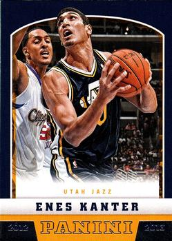 2012-13 Panini #233 Enes Kanter Front