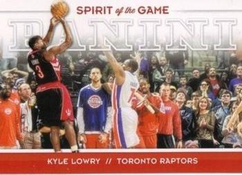 2012-13 Panini - Spirit of the Game #5 Kyle Lowry Front