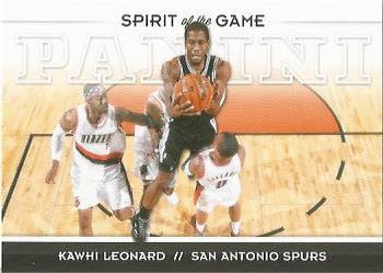 2012-13 Panini - Spirit of the Game #9 Kawhi Leonard Front