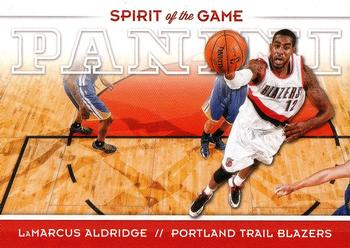2012-13 Panini - Spirit of the Game #10 LaMarcus Aldridge Front
