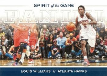 2012-13 Panini - Spirit of the Game #16 Louis Williams Front