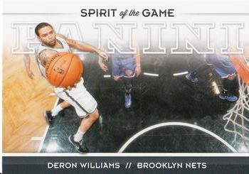 2012-13 Panini - Spirit of the Game #20 Deron Williams Front