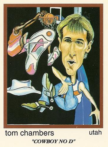 1993 94 NBA Skinnies Parody 79 Tom Chambers