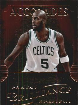 2012-13 Panini Brilliance - Accolades #4 Kevin Garnett Front