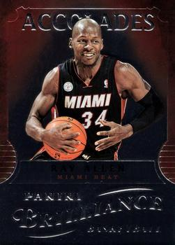 2012-13 Panini Brilliance - Accolades #5 Ray Allen Front