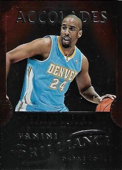 2012-13 Panini Brilliance - Accolades #10 Andre Miller Front