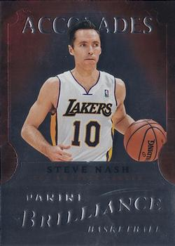 2012-13 Panini Brilliance - Accolades #9 Steve Nash Front
