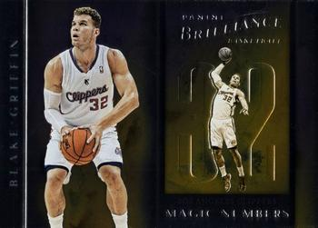 2012-13 Panini Brilliance - Magic Numbers #2 Blake Griffin Front