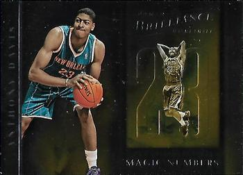 2012-13 Panini Brilliance - Magic Numbers #3 Anthony Davis Front