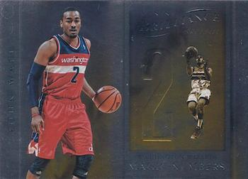 2012-13 Panini Brilliance - Magic Numbers #8 John Wall Front