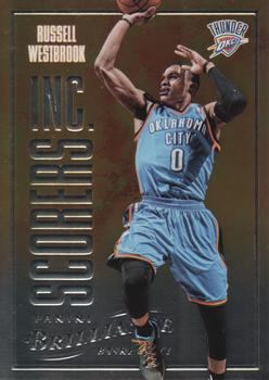 2012-13 Panini Brilliance - Scorers Inc. #9 Russell Westbrook Front
