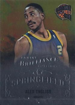2012-13 Panini Brilliance - Springfield #5 Alex English Front