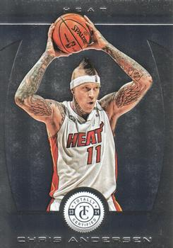 2013-14 Panini Totally Certified #121 Chris Andersen Front
