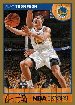 2013-14 Hoops - Gold #129 Klay Thompson Front