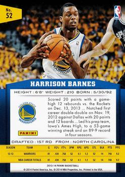 Harrison Barnes Gallery The Trading Card Database
