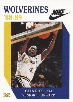 Glen Rice Gallery The Trading Card Database