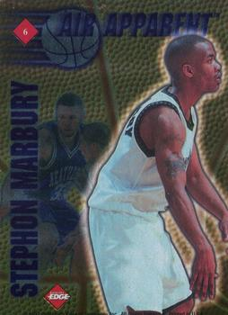 1997 Collector's Edge - Air Apparent #6 Ron Mercer / Stephon Marbury Back
