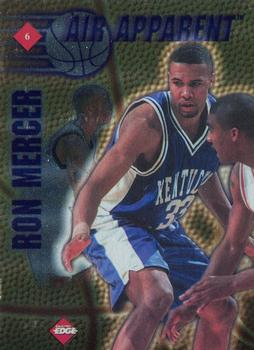 1997 Collector's Edge - Air Apparent #6 Ron Mercer / Stephon Marbury Front