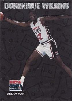 1994 SkyBox USA - Dream Play #DP6 Dominique Wilkins Front