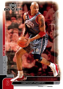 818d2e8ef 2002-03 Upper Deck MVP  113 Kenyon Martin - New Jersey Nets
