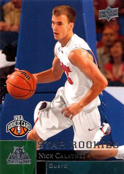 2009-10 Upper Deck #221 Nick Calathes Front