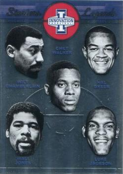 2013-14 Panini Innovation - Starters Legends #9 Chet Walker / Hal Greer / Luke Jackson / Wali Jones / Wilt Chamberlain Front