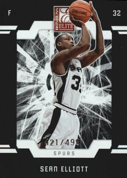 2009-10 Donruss Elite #139 Sean Elliott Front